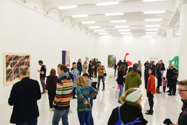 Eröffnung der neuen Kunsthalle am 30. November. Foto: a&o
