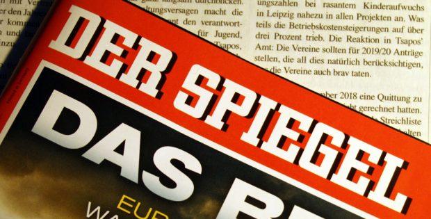 """Es betrifft nicht nur den """"Spiegel"""". Foto: Ralf Julke"""