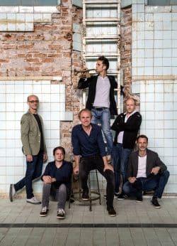 Keimzeit gemeinsam mit Saxophonist Ralf Benschu. Foto: Frank Gaudlitz