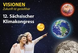 Plakat zum Klimakongress. Grafik: Grüne Fraktion Sachsen