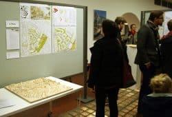 Ausstellung zum neuen Stadtquartier an der Kolmstraße. Foto: Ralf Julke