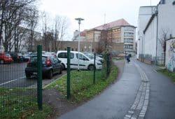 Blick vom Naundörfchen zur Hauptfeuerwache. Foto: Ralf Julke