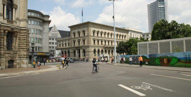 Zugang zur Innenstadt über die Petersstraße. Archivfoto: Ralf Julke