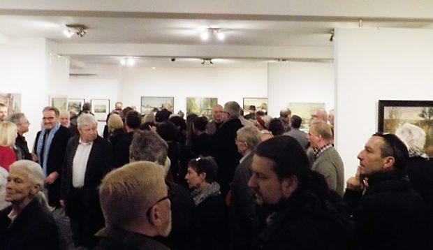 Gert-Pötzschig-Ausstellung in der Galerie Koenitz. Foto: Christiane Otto