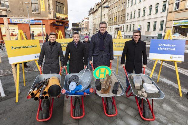 Das Eröffnungsfoto der L-Gruppe. Foto: Leipziger Gruppe