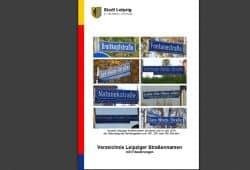 Aufschlagseite für das Leipziger Straßenverzeichnis. Screenshot: L-IZ
