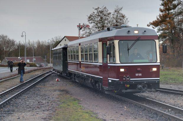 er neue Triebwagen der Döllnitzbahn für den Schülerverkehr. Foto: Landratsamt Nordsachsen