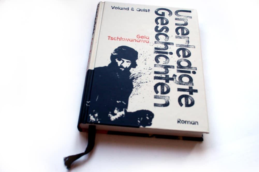 Gela Tschkwanawa: Unerledigte Geschichten. Foto: Ralf Julke