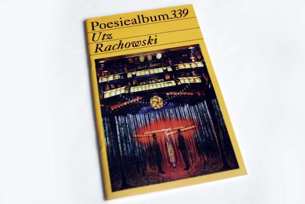 Poesiealbum 339: Utz Rachowski. Foto: Ralf Julke
