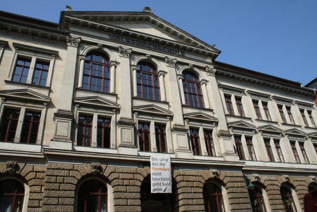 Die Volkshochschule in der Löhrstraße. Foto: Ralf Julke