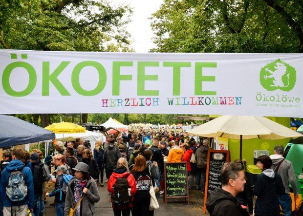 Fotos: Leipziger Umwelttage / Ökofete © Ökolöwe, Lukas Speck