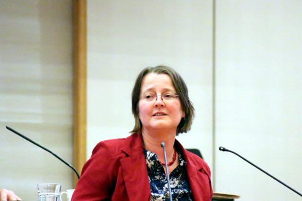 Annette Körner (B90/Die Grünen) im Stadtrat Leipzig. Foto: L-IZ.de