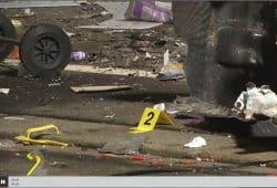 Anschlag auf das AfD Büro in Döbeln - der MDR berichtet. Foto: Screenshot MDR-Bericht