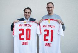 Bekanntgabe UNIBET. Quelle: RB Leipzig