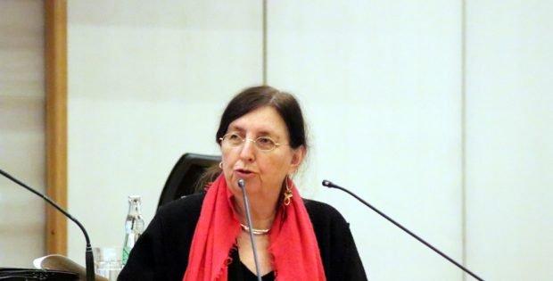 Baudezernentin Dorothee Dubrau in der OB-Fragestunde am 23. Januar 2019. Foto: L-IZ.de