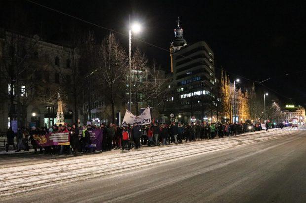 Einmal den halben Ring voll - 3.000 Menschen waren zum ersten Aufruf2019 gekommen. Foto: L-IZ.de