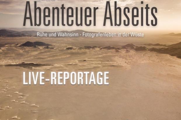 Fotografenleben in der Wüste. Quelle: Motoventure
