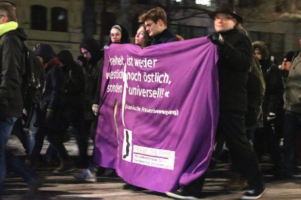 Freiheit - nicht östlich und nicht westlich, sondern universell. Foto: L-IZ.de
