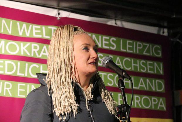 """Irena Rudolph-Kokot von """"Leipzig nimmt Platz"""" und der SPD Leipzig. Foto: L-IZ.de"""