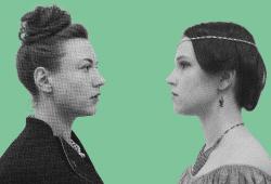 Klara trifft Clara. Quelle: Kulturwerkstatt KAOS