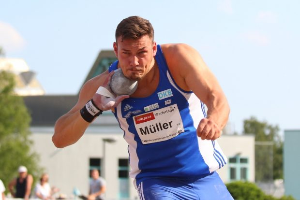 Patrick Müller kam vom SC Neubrandenburg nach Leipzig. Foto: Jan Kaefer