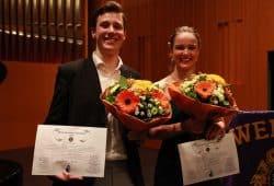 Die beiden Lortzing-Preisträger 2019: Anna Maria Schmidt und Anton Haupt © Siegfried Duryn