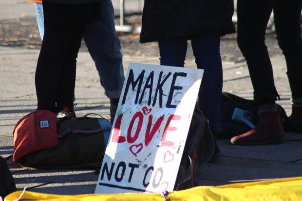 Aus der Friedensbewegung in die Umweltbewegung hinein. Foto: L-IZ.de