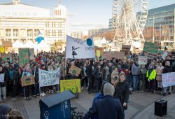 #fridays for future-Demo in Leipzig. Foto: Marco Arenas
