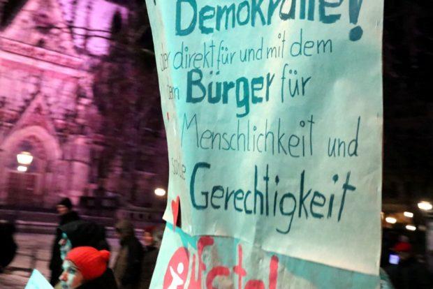 Mehr direkte Demokratie und Gerechtigkeit. Foto: L-IZ.de