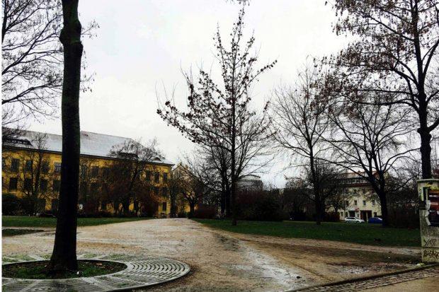 Otto Runki Platz Foto: Dr. Tobias Peter