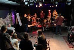 """Das erste Bandcamp 2015 mit Jugendlichen aus Polen in der VILLA. Quelle: Soziokulturelles Zentrum """"Die VILLA"""""""