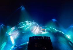 Panorama TITANIC aus der Draufsicht, Foto Tom Schulze (c) asisi