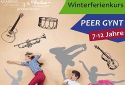 Plakat Ferienkurs. Quelle: Academy of Music