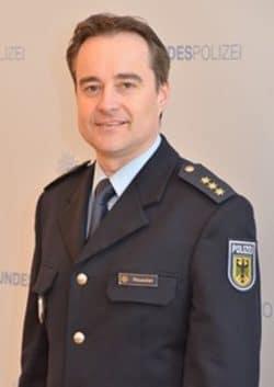 Polizeidirektor Rico Reuschel, Quelle: Bundespolizeiinspektion Dresden