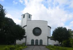 St Bonifatius Kirche Leipzig Connewitz. Quelle: Katholische Pfarrei Leipzig-Süd
