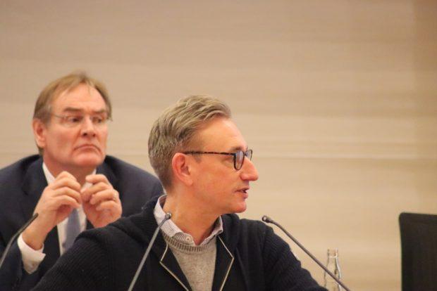 Tim Elschner (B90/Die Grünen) im Stadtrat. Foto: L-IZ.de