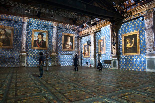 Leonardo da Vinci - Raffael - Michelangelo. Giganten der Renaissance. Foto: Kunstkraftwerk, Angelina Perke