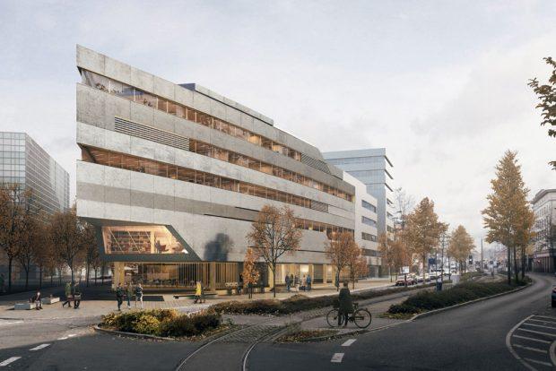 Den 3.Preis bekam der Entwurf von CLTR Cluster Architekten, Berlin. Visualisierung: CLTR Cluster Architekten, Berlin