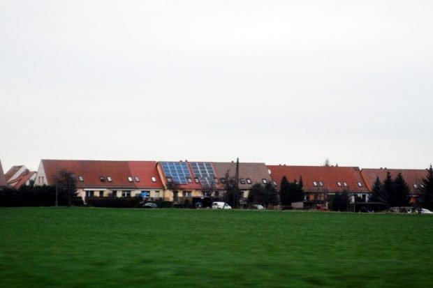 Eigenheime in der Lausitz. Foto: Michael Freitag