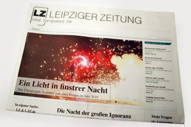 Leipziger Zeitung Nr. 63. Foto:L-IZ