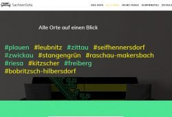 Reiseroute des Sachsensofas. Screenshot: L-IZ