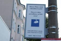 Überwachung am Connewitzer Kreuz. Foto: Ralf Julke