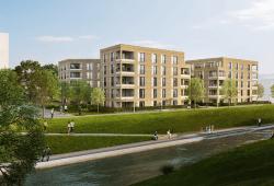 Der geplante Lindenauer Hafen © Townscape