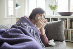Die Grippe kommt. Quelle: ERGO Group