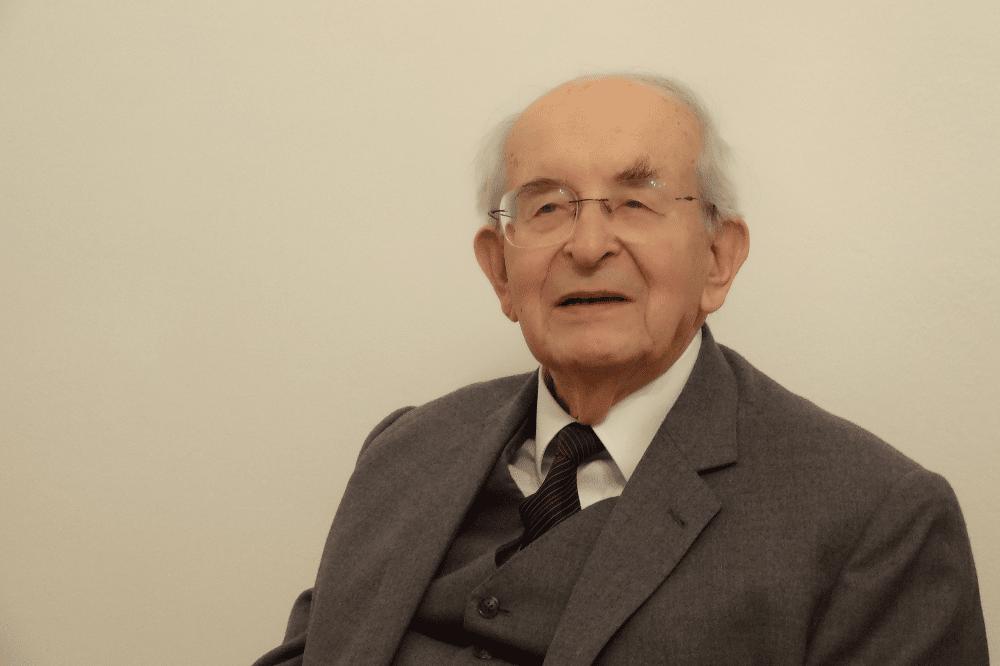 Emer. Univ.-Prof. Dr. DDr. h.c. Gerald Stourzh, Universität Wien. Foto: Privat