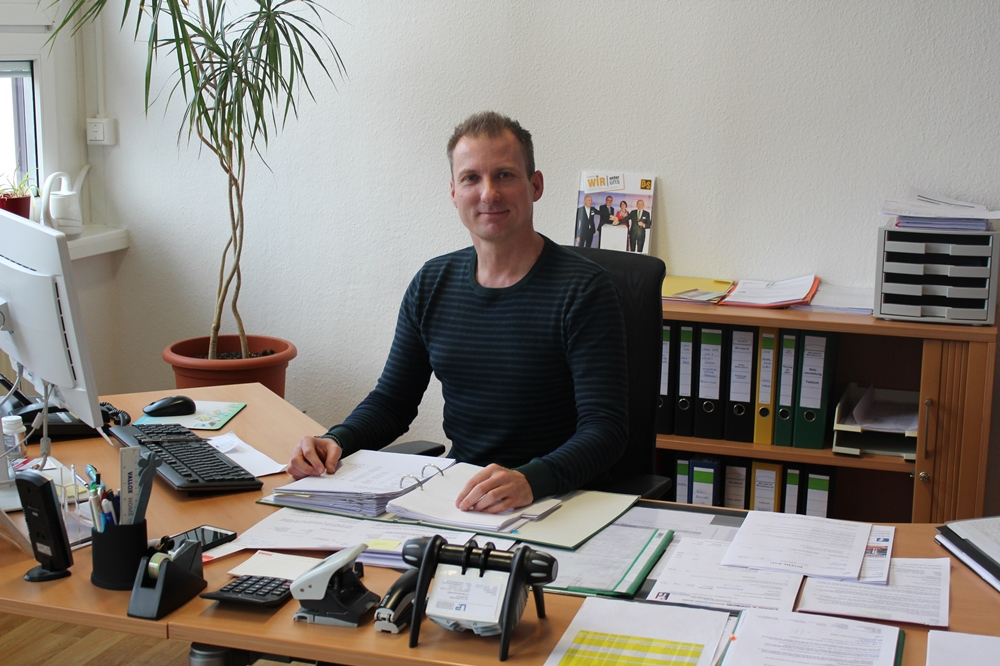 Ist seit Januar 2019 Leiter Technik bei der Lipsia: Chris Hirschfeld. © Lipsia