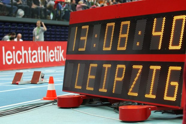 Der Februar ist wieder Leichtathletik-Zeit in der Arena Leipzig. Foto: Jan Kaefer