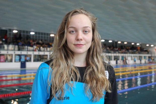 SSG-Schwimmerin Marie Pietruschka. Foto: Jan Kaefer