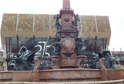Mendebrunnen. Quelle: Stadtreinigung Leipzig