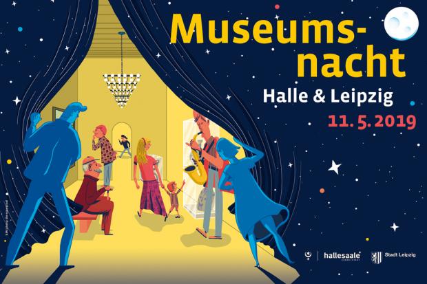 Museumsnacht in Halle und Leipzig PR